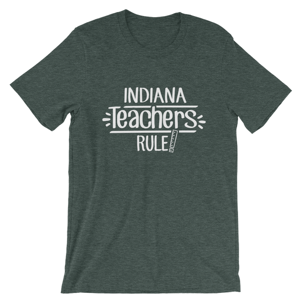 Indiana Teachers Rule! - State T-Shirt