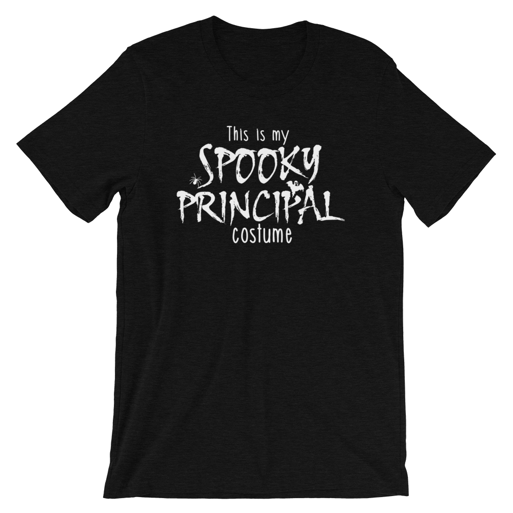 This is My Spooky Principal Costume Funny School Principal Halloween Shirt