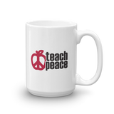 Teach Peace Mug - 11 oz or 15 oz - Free shipping!