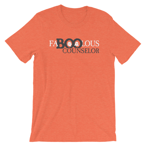 FaBOOlous Counselor Funny Counselor Halloween Shirt