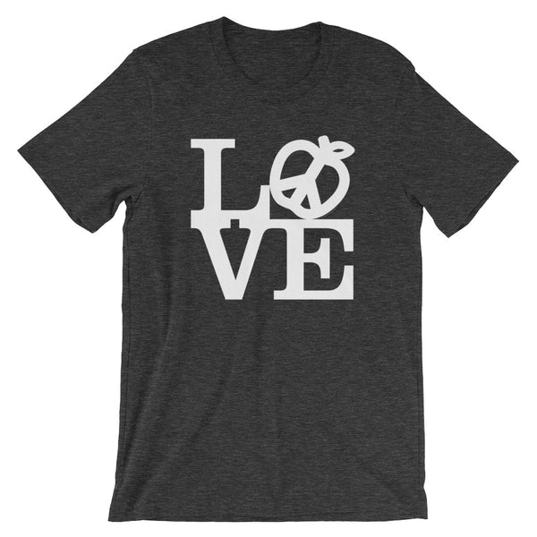 LOVE Teach Peace Symbol T-Shirt