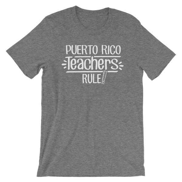 Puerto Rico Teachers Rule! - State T-Shirt