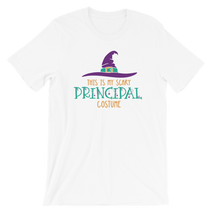 This is My Scary Principal Costume Funny School Principal Halloween Shirt
