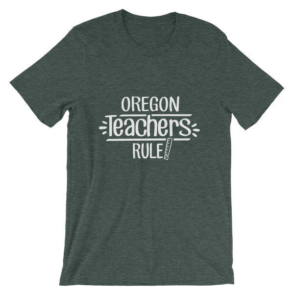 Oregon Teachers Rule! - State T-Shirt