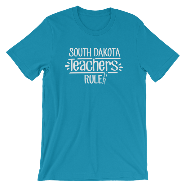 South Dakota Teachers Rule! - State T-Shirt