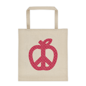 Teach Peace Tote Bag - Free Shipping