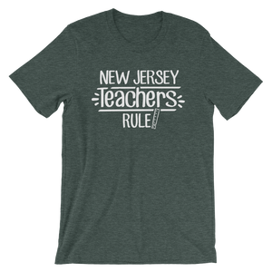 New Jersey Teachers Rule! - State T-Shirt