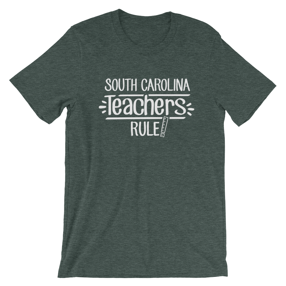 South Carolina Teachers Rule! - State T-Shirt
