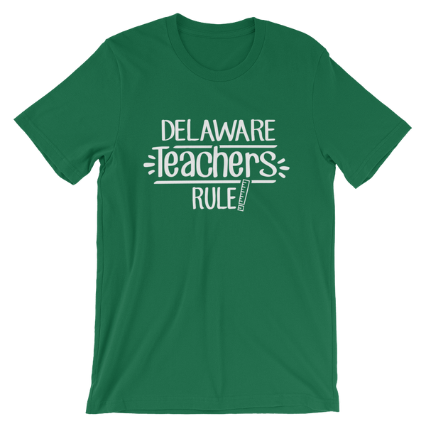 Delaware Teachers Rule! - State T-Shirt