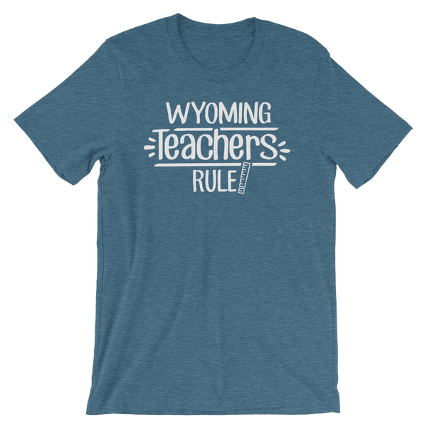 Wyoming Teachers Rule! - State T-Shirt
