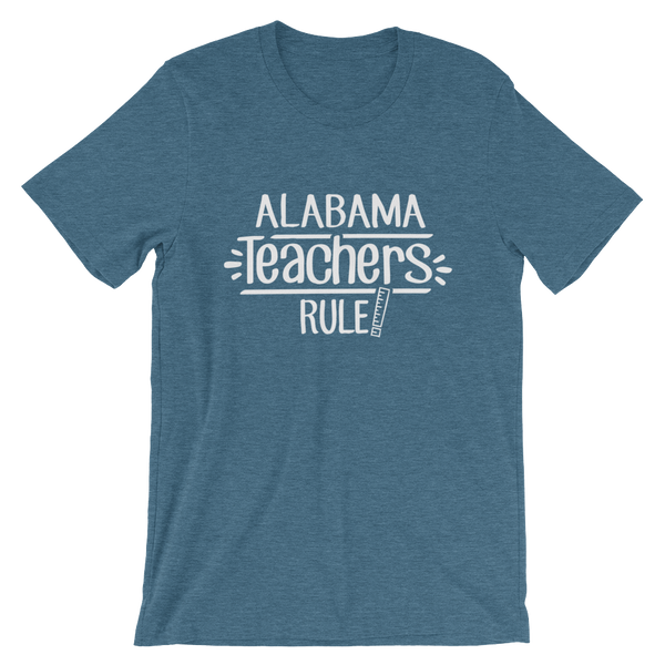 Alabama Teachers Rule! - State T-Shirt
