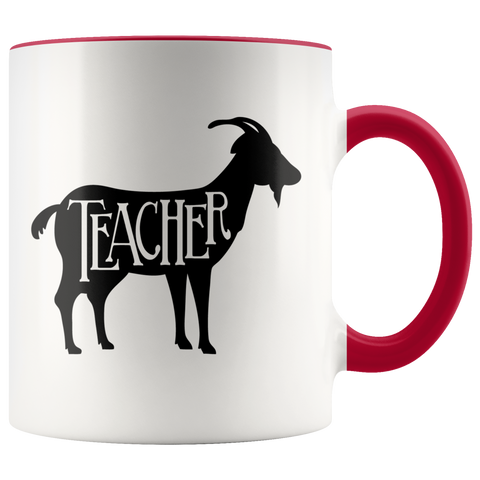 GOAT Teacher Coffee Mug (Greatest Of All Time)
