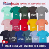 North Carolina Teachers Rule! - State T-Shirt