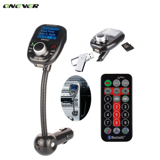 5 in 1 LCD Dispaly Bluetooth FM Transmitter