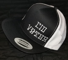 Black / white mesh - snap back