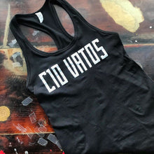 C10 Vatos girly tank top - black