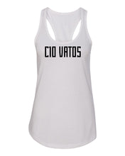 C10 Vatos girly tank top - white
