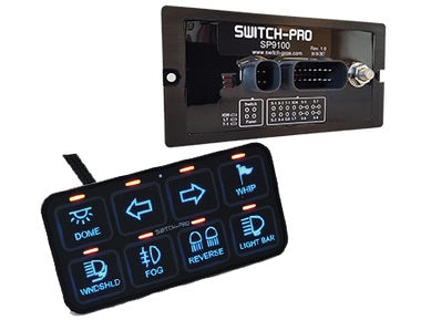 SP-9100 8-SWITCH PANEL POWER SYSTEM