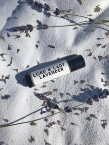 Lord and Lady Lavender Lip Balm