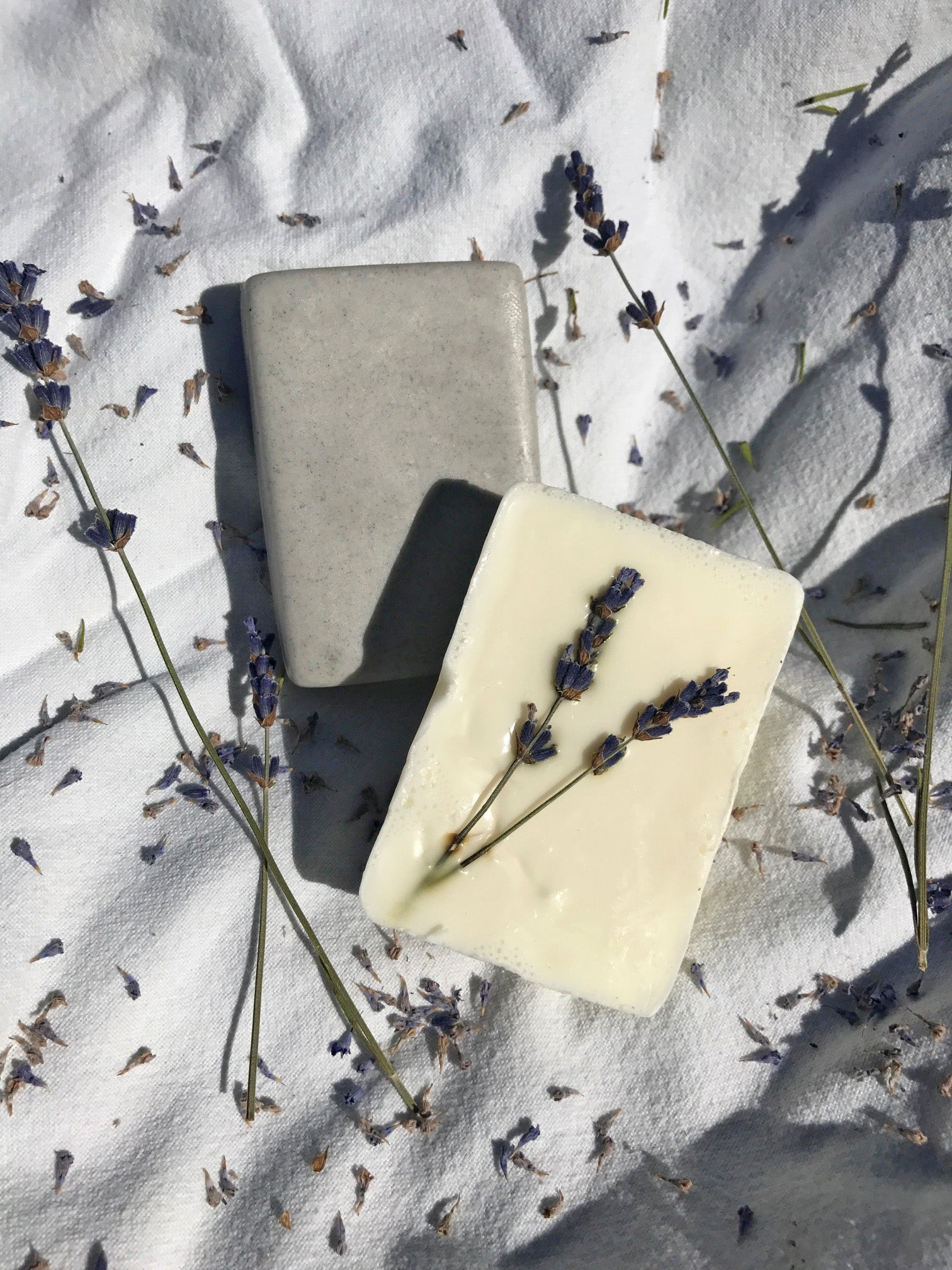 Lavender Goat Milk and Pumice Soap Duo