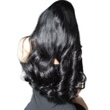 Density Full Lace Human Hair Wigs Body Wave Brazilian Virgin Hair Pre-Plucked Full Lace Wigs With Baby Hair Sunny Queen