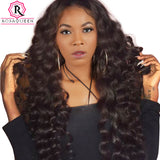 Virgin Brazilian Wig Plucked Frontal Lace Wig