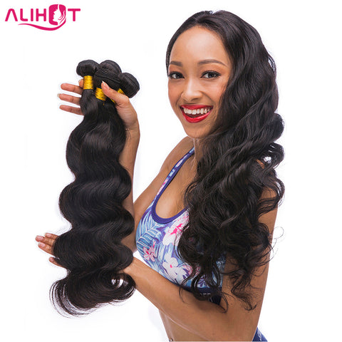 ALI HOT Brazilian Body Wave 100% Human Hair Weaving