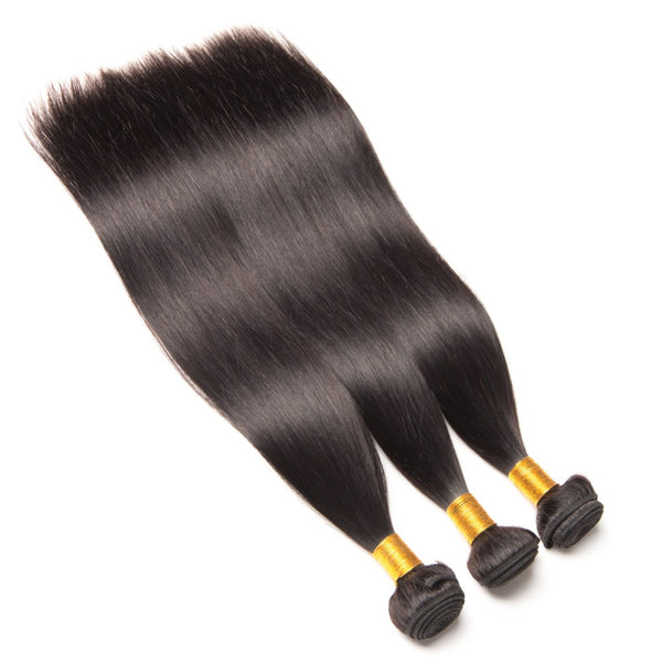 Indian Hair Human Hair Weave Bundles Natural Color