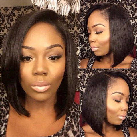 Brazilian Virgin Lace Front Human Hair Wigs