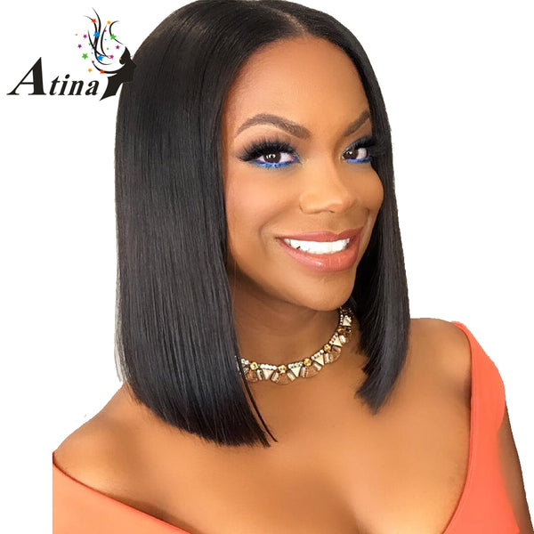 Remy Hair Lace Front Human Hair Wigs with Baby Hair Natural