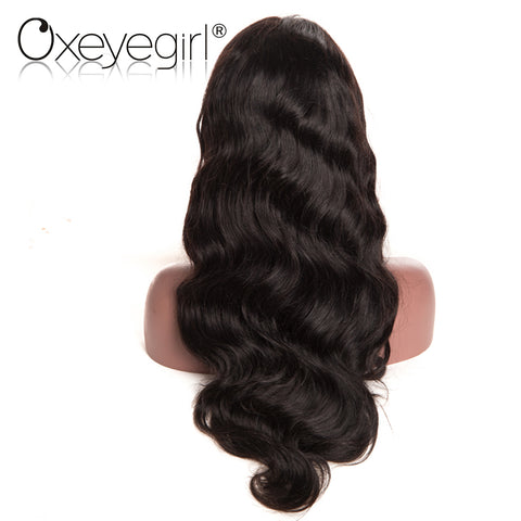 "Lace Front Human Hair Wigs With Baby Hair Brazilian Body Wave Wigs: ""Hair & Wave Wigs - MNRBEautyForever"""