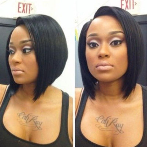 Brazilian Natural Straight Color Full Lace Wigs