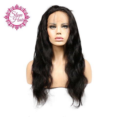 Slove Hair 360 Lace Frontal Closure Brazilian Body Wave