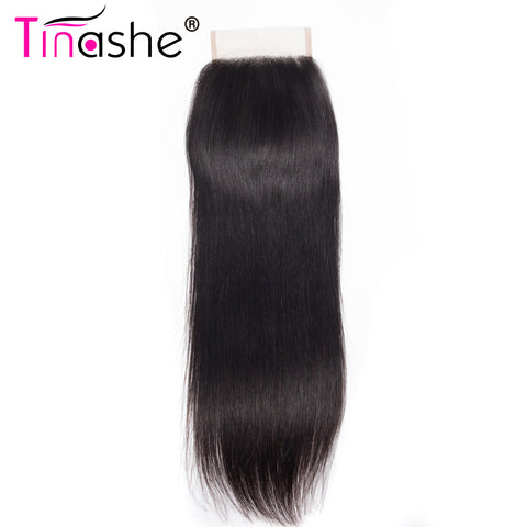 Tinashe Hair Lace Closure  Brazilian Straight Hair