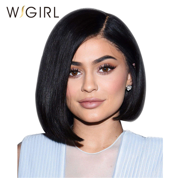 Brazilian Lace Front Human Hair Wigs With Baby Hair Virgin