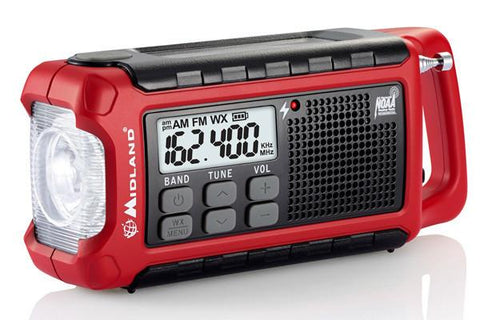 Midland ER200 Emergency Multi-Power Radio - Sored Gear
