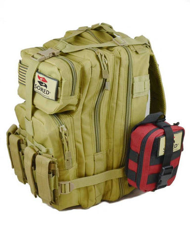 Sored Gear Range Bag w/ Compact Trauma Kit - Sored Gear