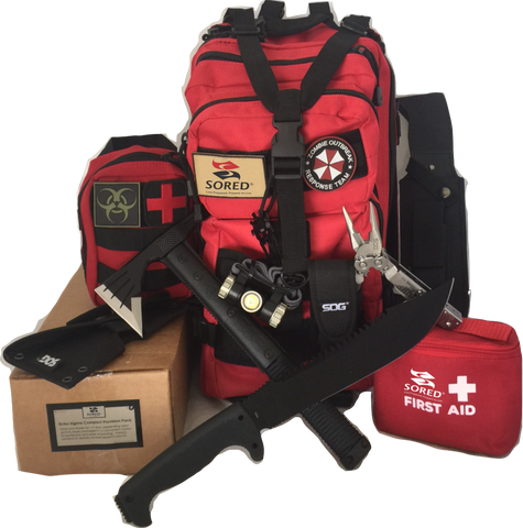 Sored Gear Zombie Outbreak Kit - Sored Gear