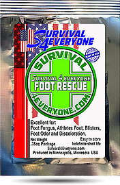 ORGANIC CLINOPTILOLITE FOOT RESCUE