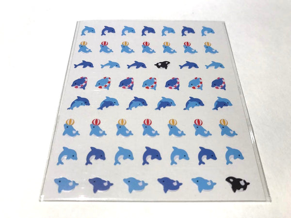 Dolphin Korean Nail Seals
