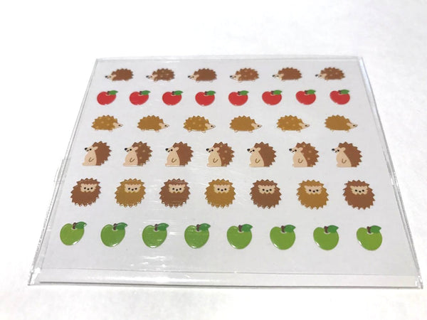 Hedgehog Korean Nail Seals