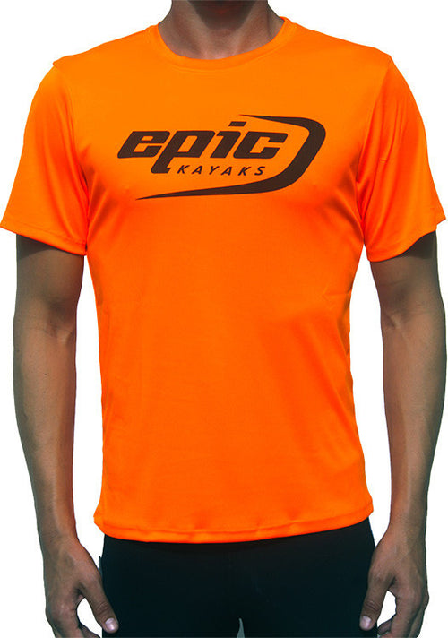Epic Hi-Vis Paddling Shirt Orange