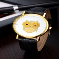 Owl Style Gold Women's Casual Quartz Watch