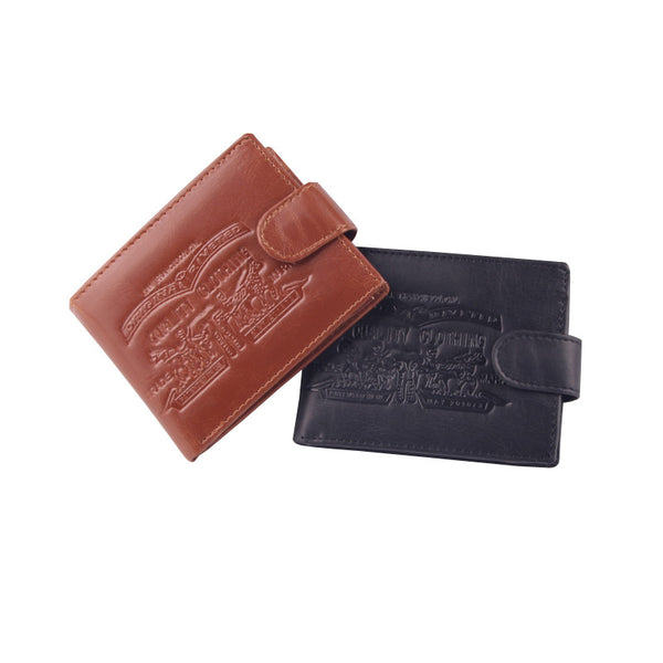 2016 New Fashion Men's Cards and Cash Casual Leather Wallet