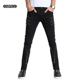 Men Hiphop Punk Casual Slim fit Pants