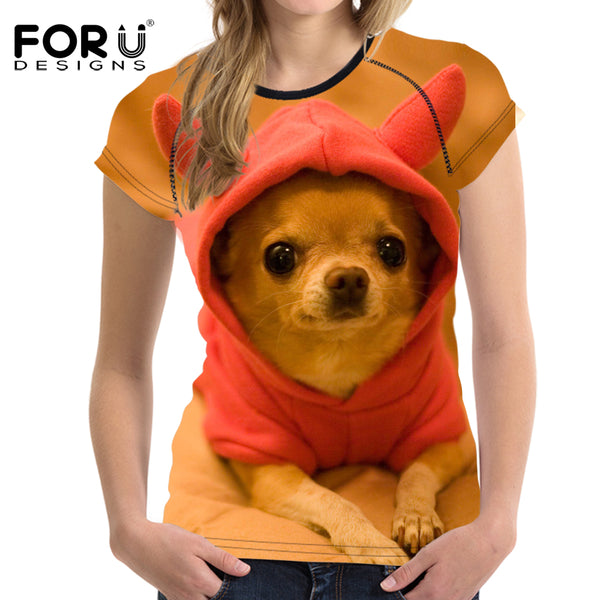 Super Cute Chihuahua T-Shirts for Women