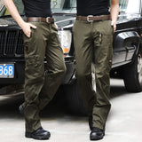 Men Knight Army Trouser Casual Tactical Cargo Pants