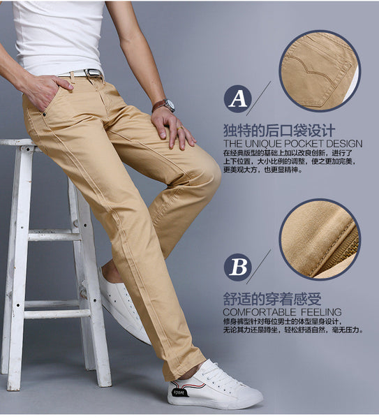Business Slim fit Casual Men Trouser / pant