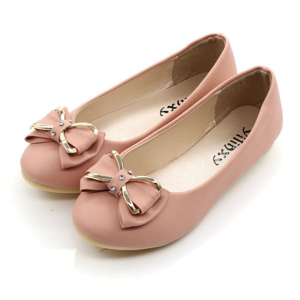 Hot Sales Summer Women round toe flat Ballet Shoes