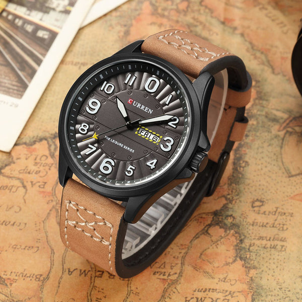 Men's Luxury Military Sports Quartz Watch